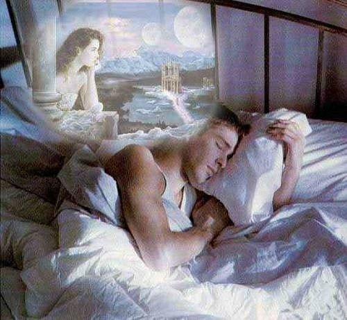 Во сне гость мужчина