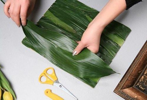 Листья для букетов своими руками