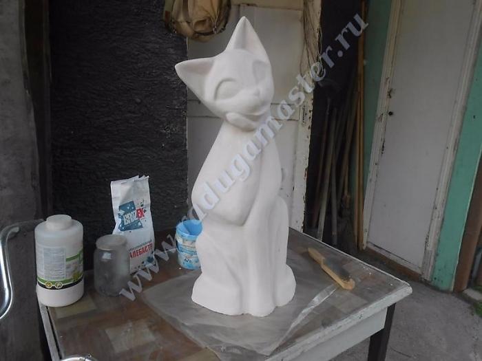 Скульптуры кошек своими руками