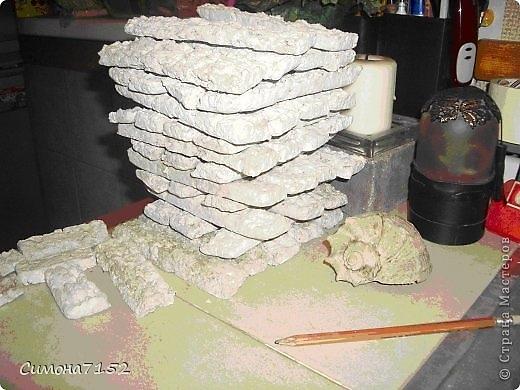 Как сделать имитацию камня из бумаги своими руками 70