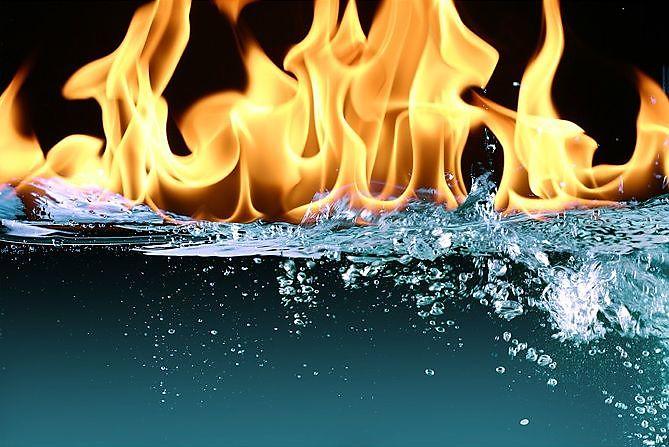 статус связанный с огнем станет прекрасным дополнением