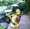 Резное.ру - Подставка под цветы,Материал: осина,береза,Размеры: 100х70см.  Продается.  Цена 7 000 рублей.