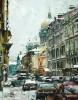 """Музей В.В. Набокова приглашает на выставку работ петербургского художника Павла Еськова  """"Городской мотив """"."""