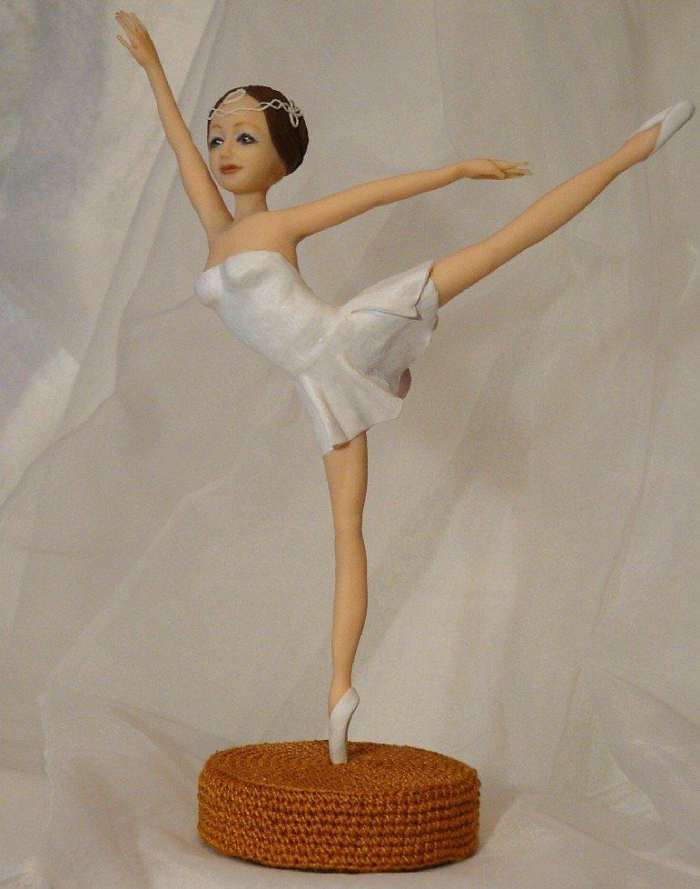 Как из пластилина сделать балерину из
