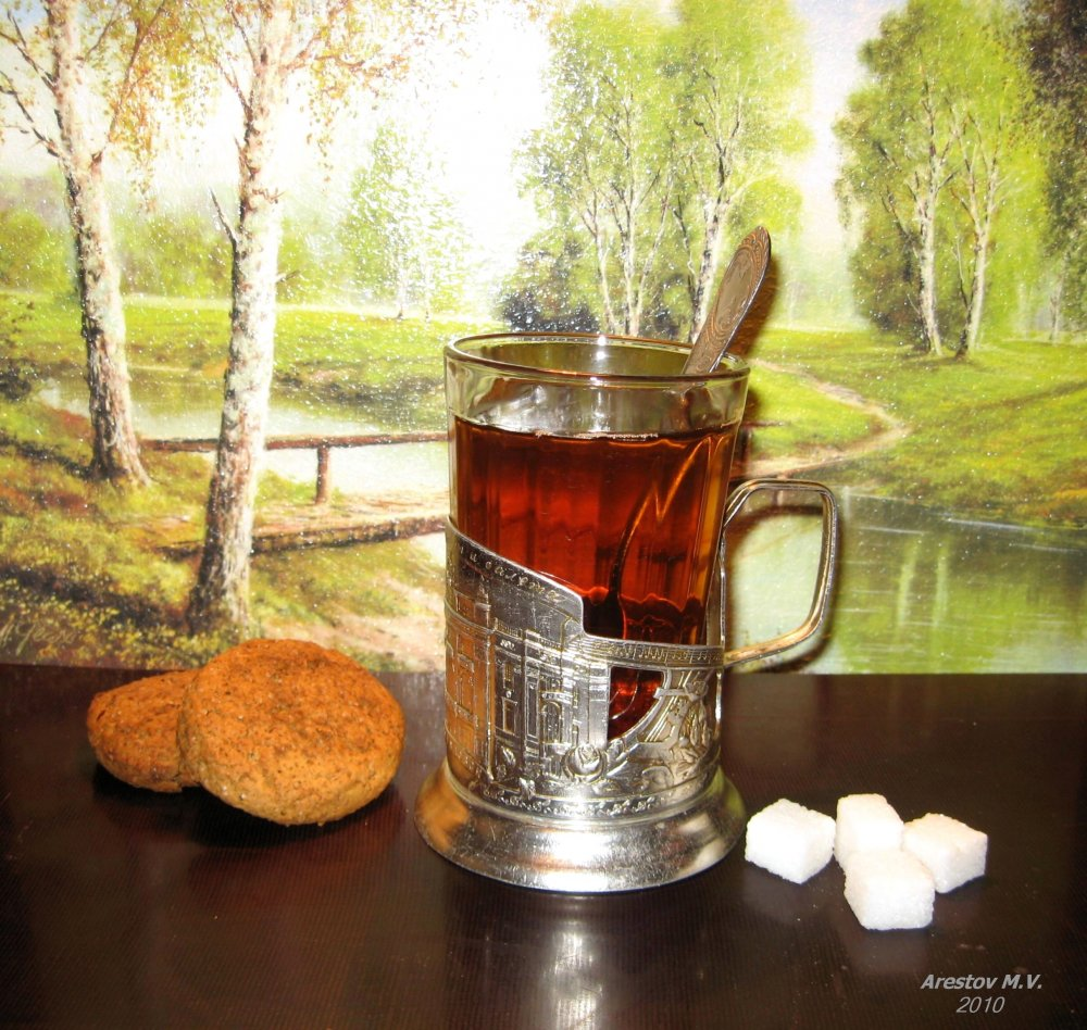 Фото стакана чая
