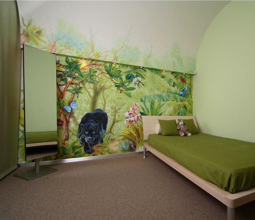 Kinderzimmer gestalten 3d