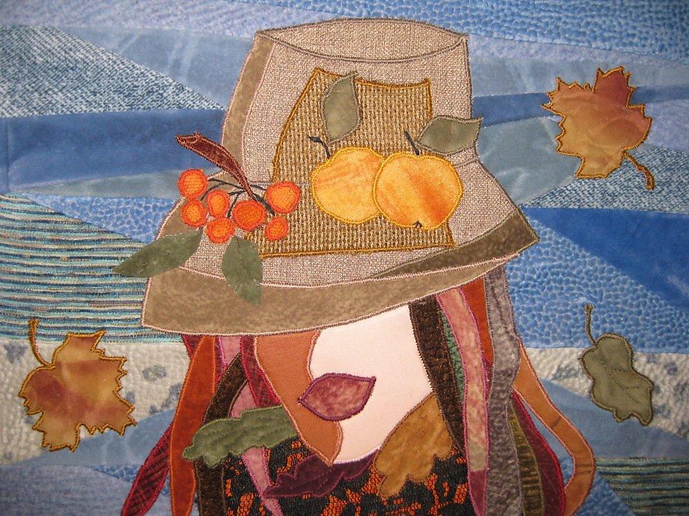 панно - Бабье лето - Прикладное искусство - Арт-текстиль, квилт