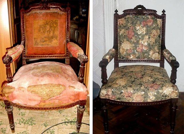 Как отреставрировать старое деревянное кресло своими руками