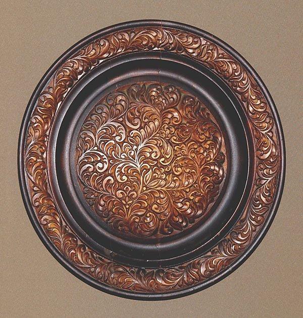 резные тарелки фото