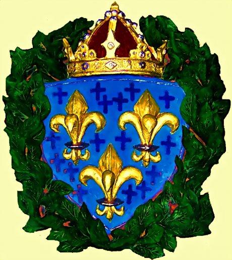 Королевский герб франции