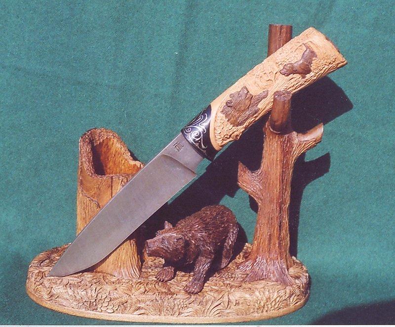 Как сделать подставку для ножей из дерева своими 19