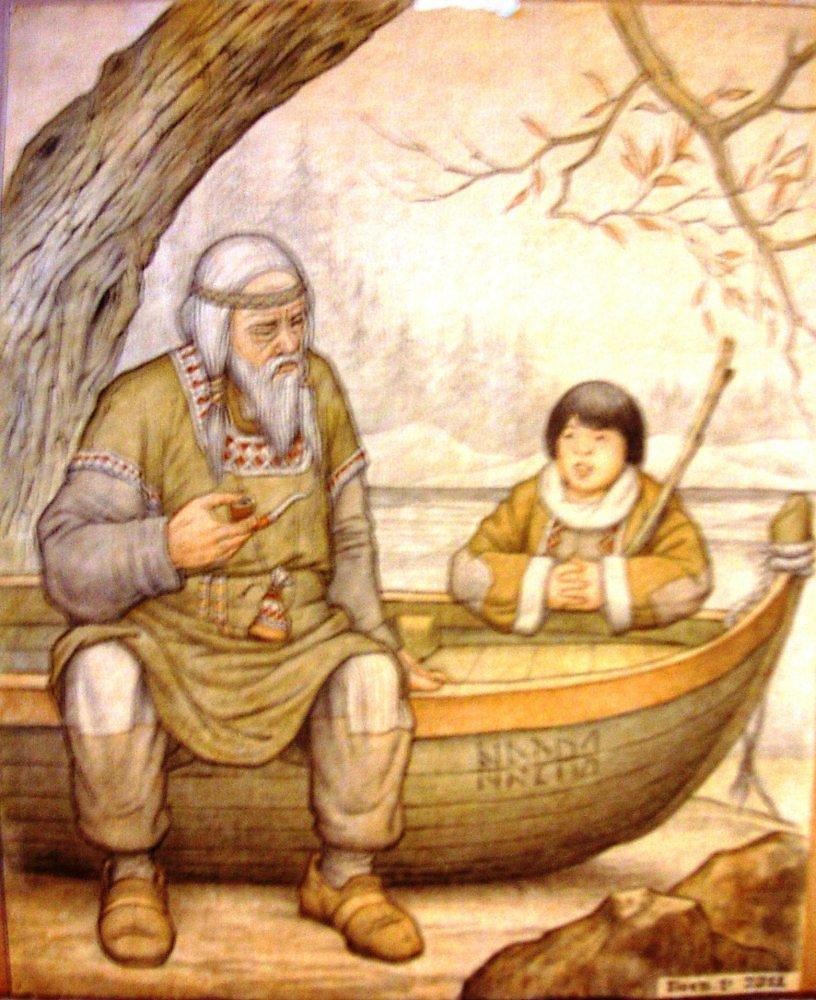 старые рыбаки рассказывают