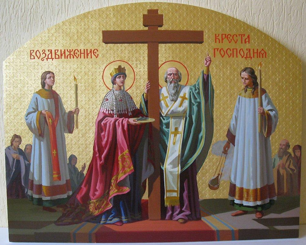 воздвижение креста господня ...: www.neizvestniy-geniy.ru/cat/design/ikona/334946.html