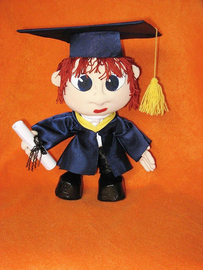Кукла ученый