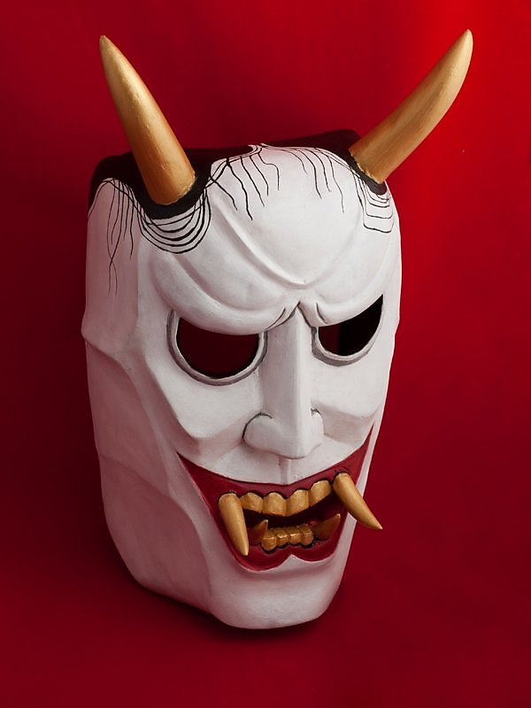 Как сделать маску для театра но