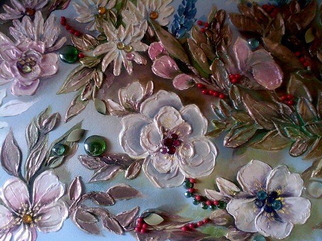 Декоративная плитка своими руками фото