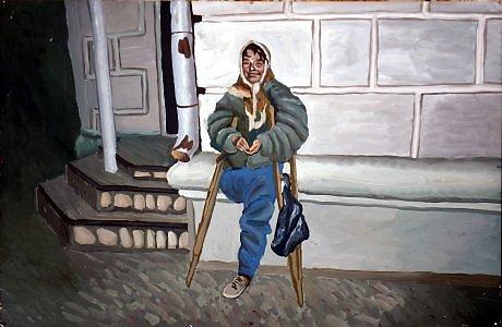 женщина без ноги знакомство