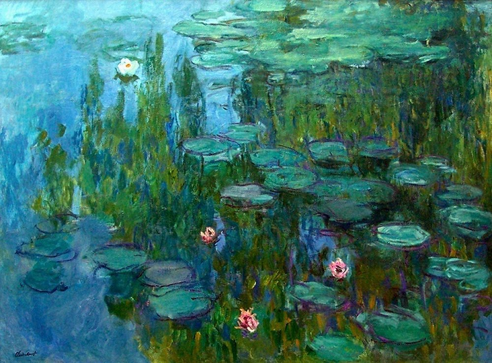 an analysis of the painting water lily pond by claude monet
