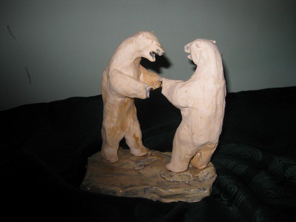 лепка медведь средняя группа картинки