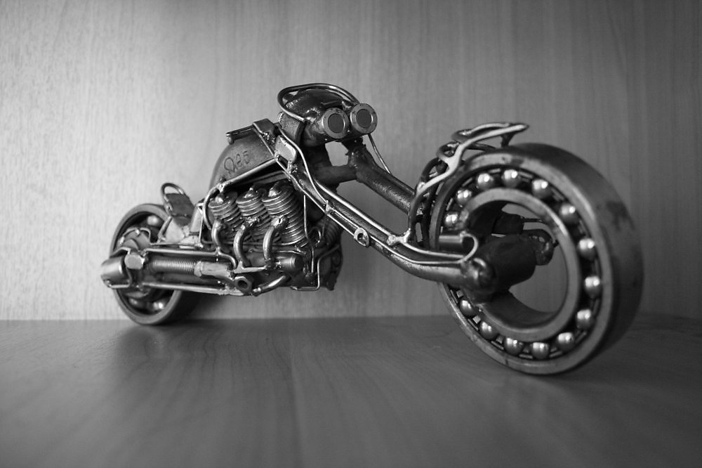 Фото мотоциклов из металла своими руками