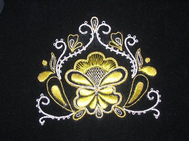 Вышивка золотом схемы 26