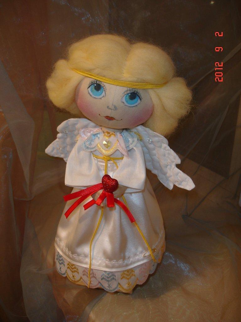 Фото кукла ангел своими руками из ткани
