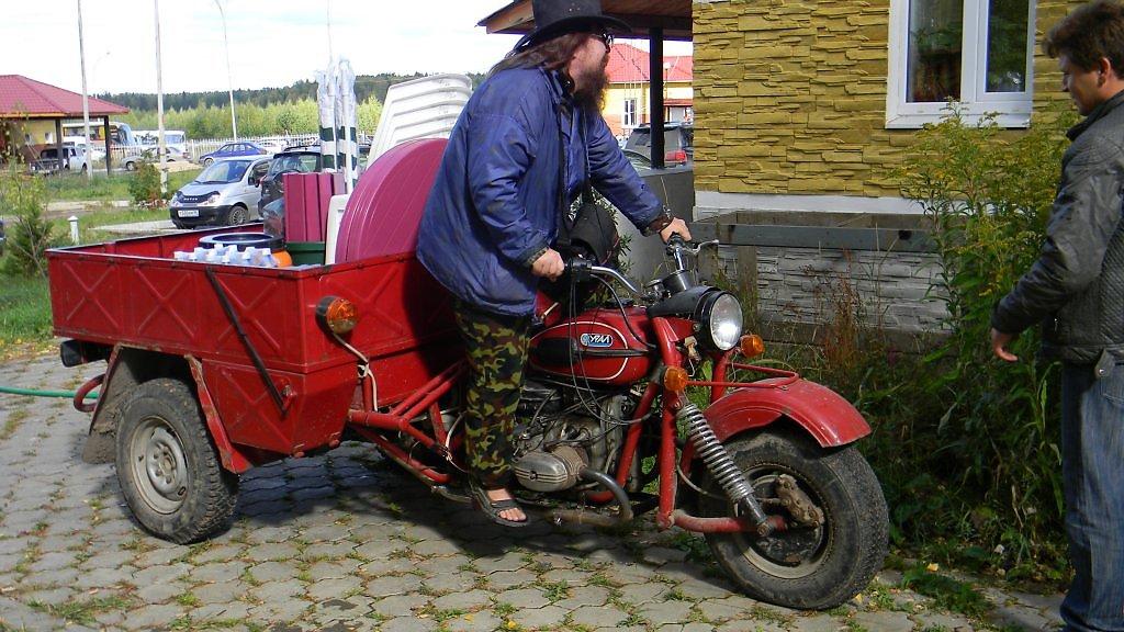 Трицикл из урала с кузовом своими руками 100