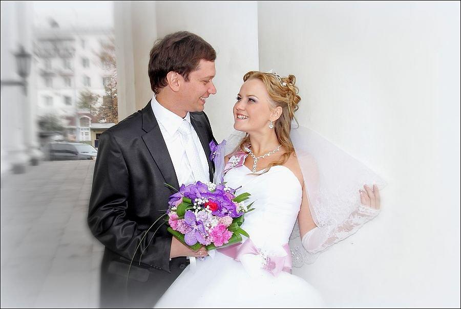 фото жениха и невесты на регистрации
