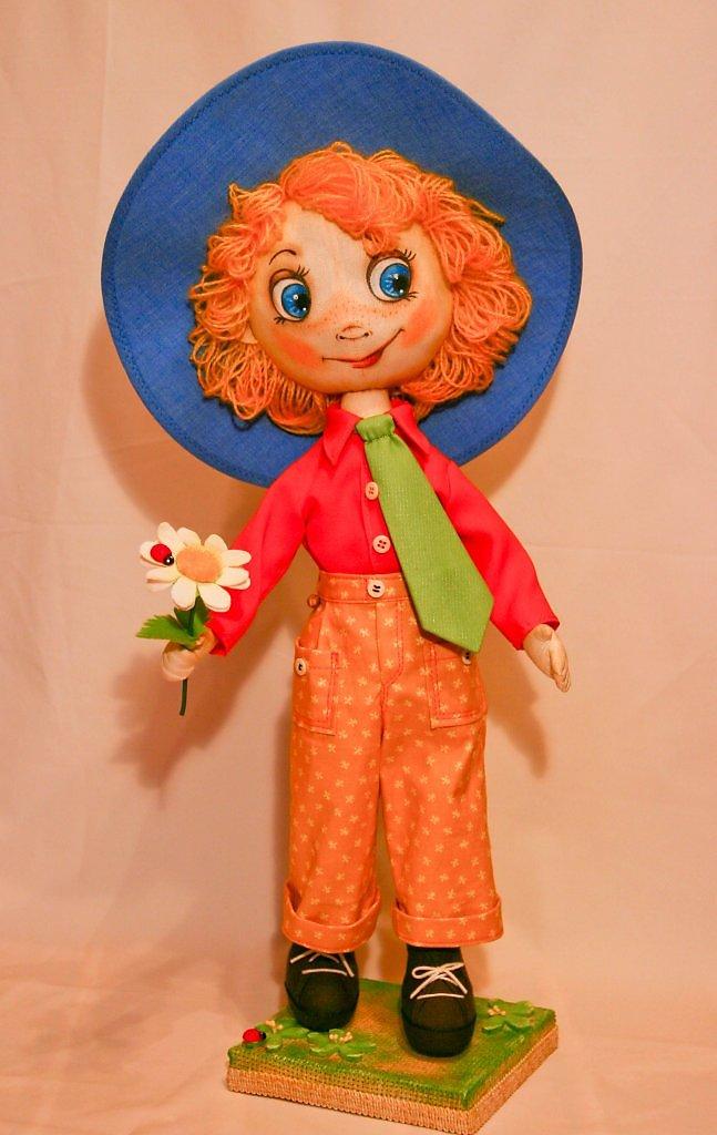 Кукла незнайка мастер класс