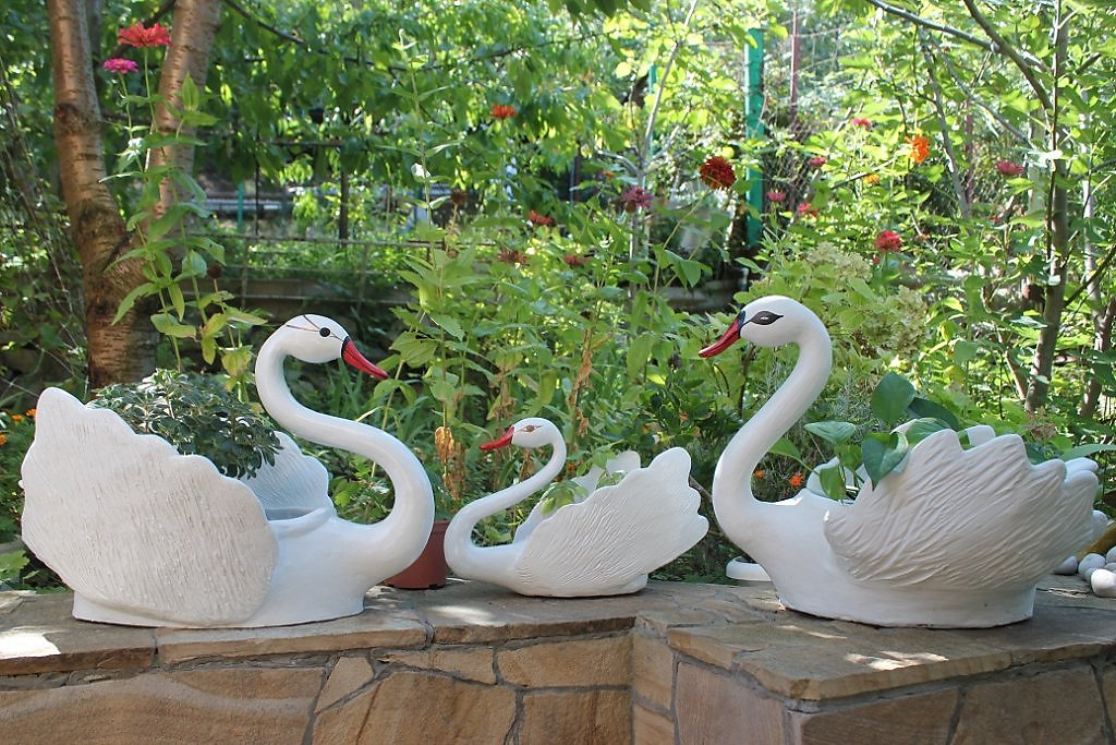 Лебеди своими руками фото