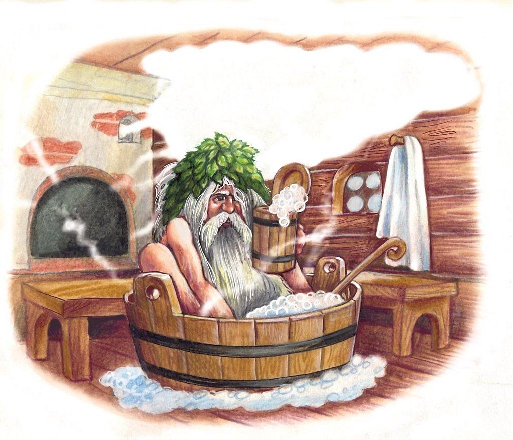 Сельская баня моются бабы 11 фотография