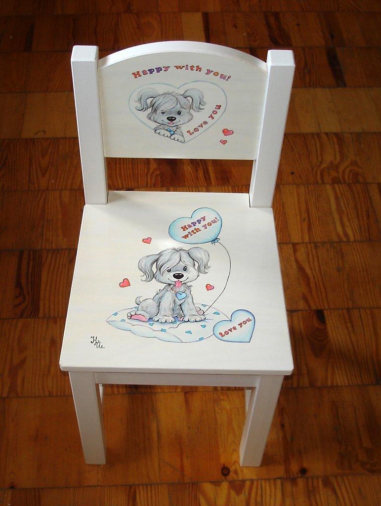 Рисунок своими руками на детском столе