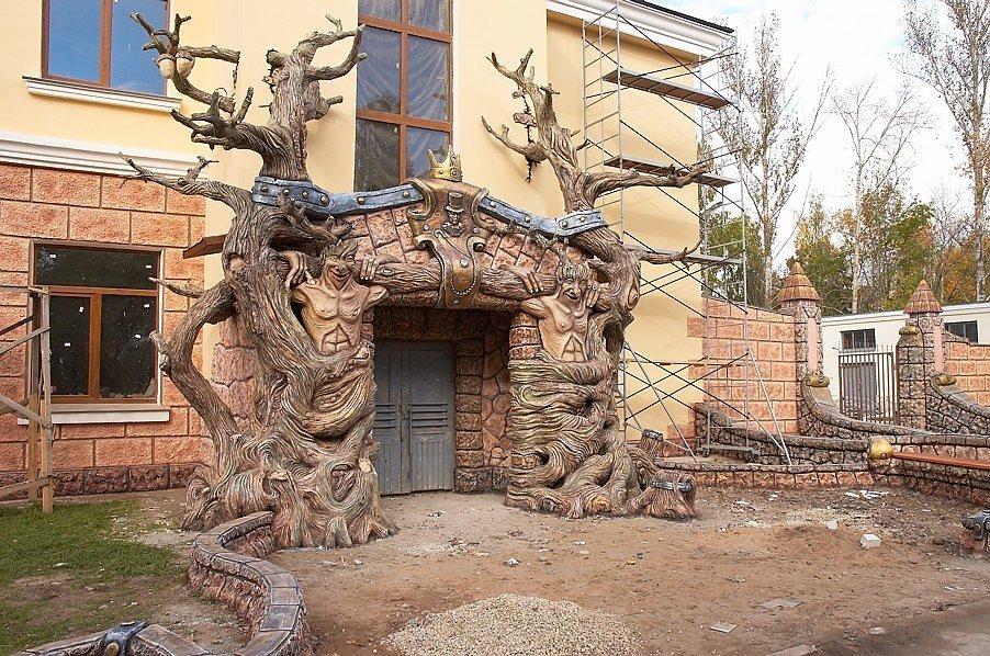 Дерево из бетона мастер класс