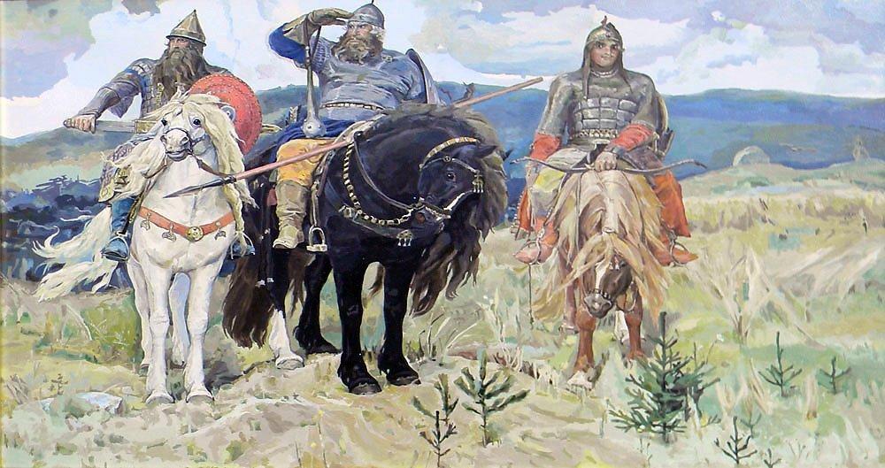 Узнают про илью муромца и других богатырей - защитников древней руси