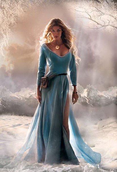 Фото баб в длинных платьях