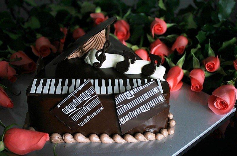 Открытка с днем рождения для певицы