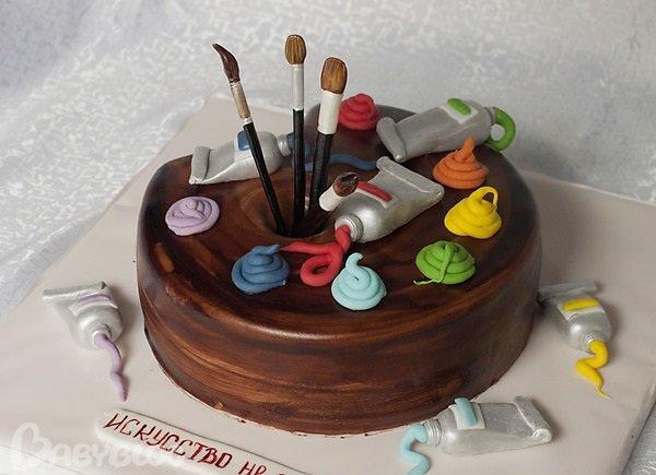 Поздравление на день рождения художнику