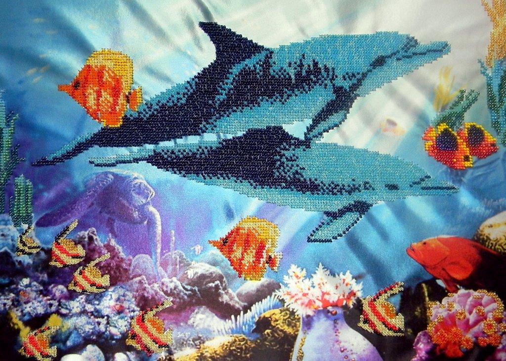 Вышивка бисером подводный мир