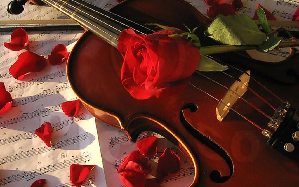 Романтичные музыкальные поздравления