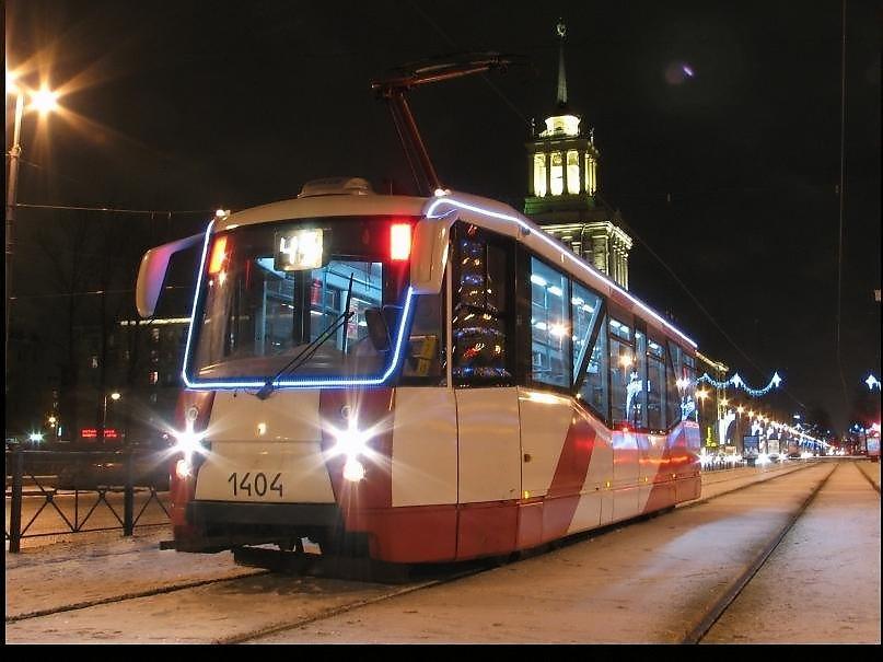 Санкт петербург новый год в трамвае