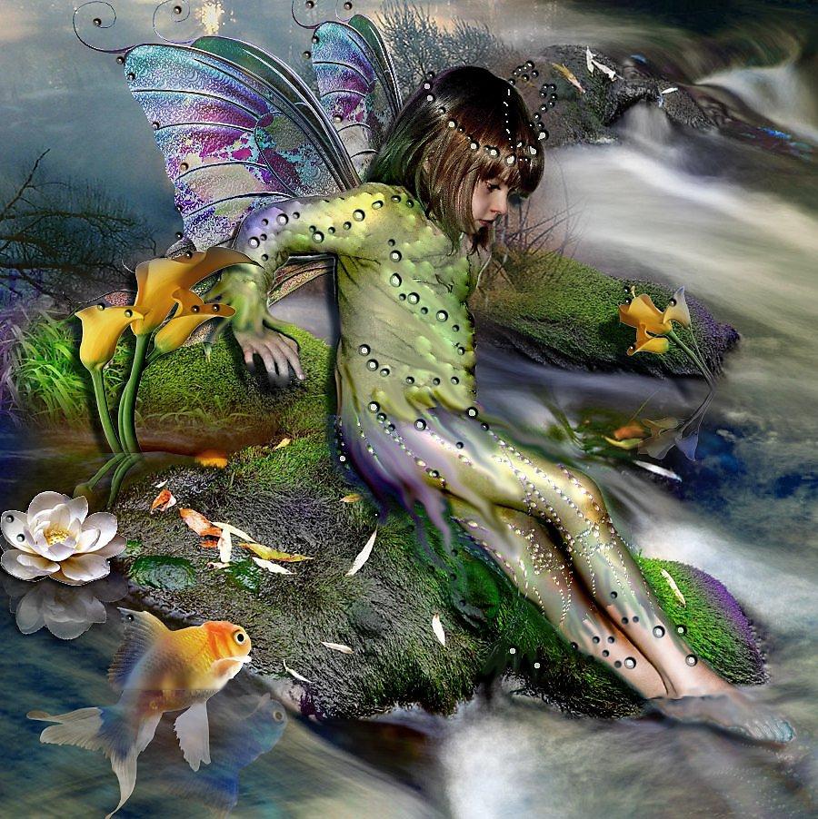 всех отношениях водные феи картинки этой