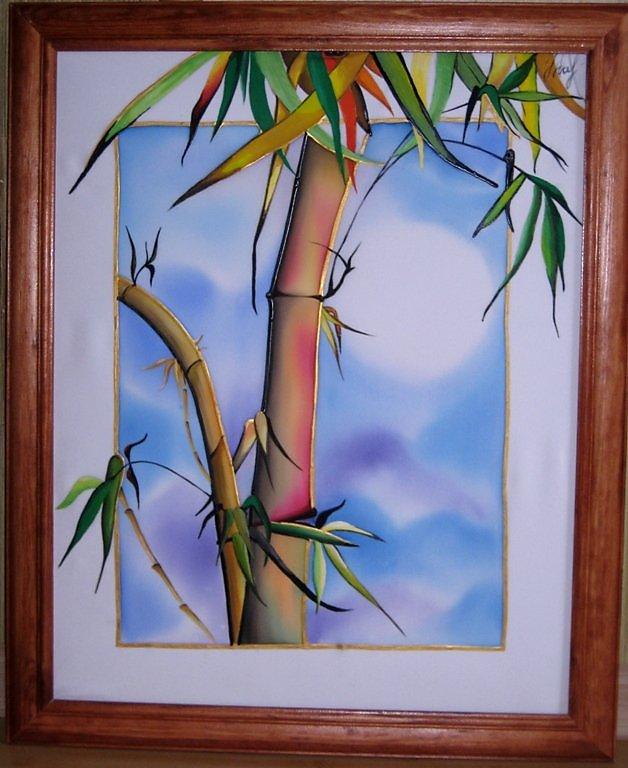 сопровождают бамбук батик фото картин мякоти пресноводных