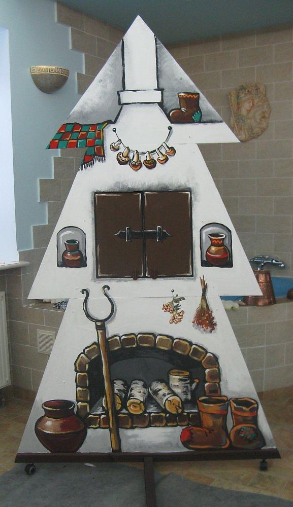 Декорация к детской сказке - Изобразительное искусство - Другое