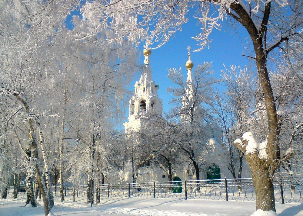Картинки обои фото мороз зима крещение