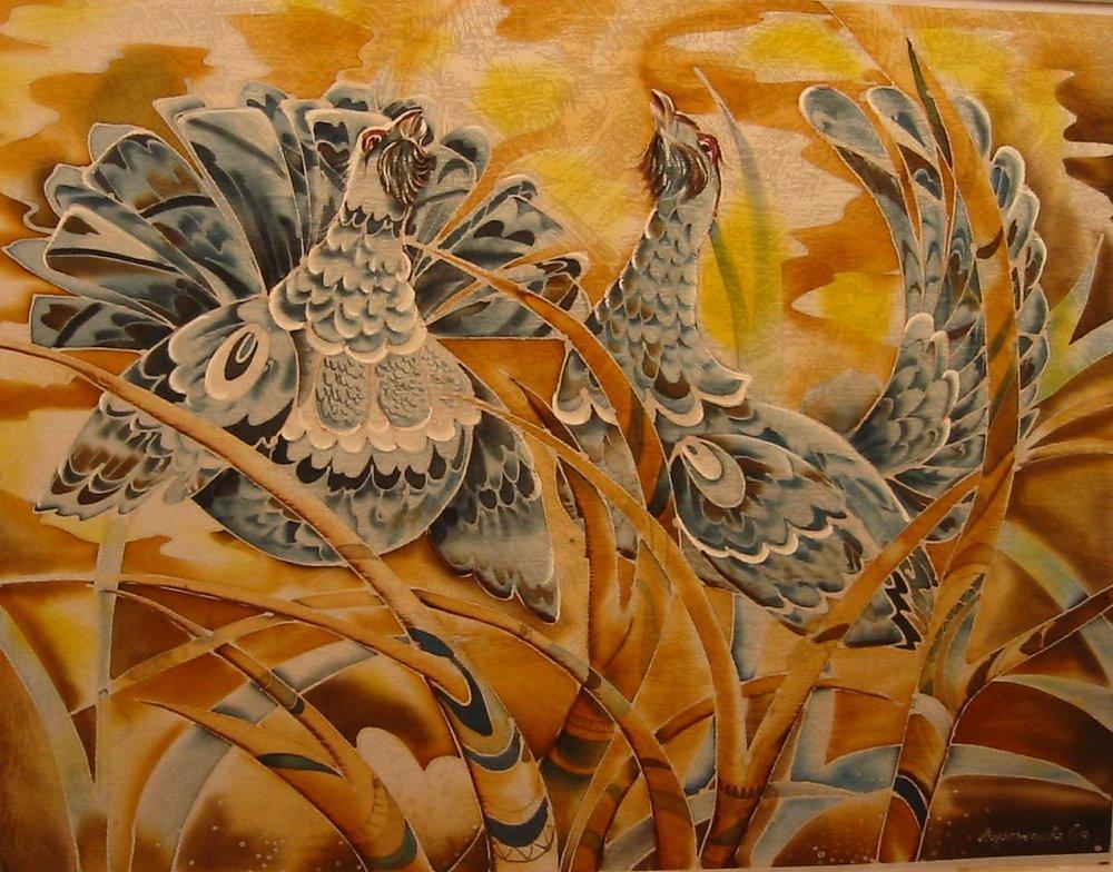 декор открытки картинки декоративно прикладное искусство птицы сезон