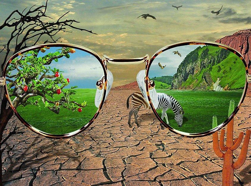 Картинки которые можно видеть только в очках