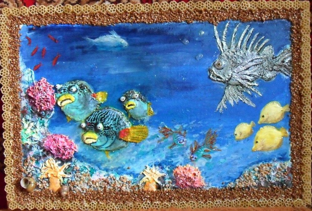 картинки поделки на морскую тему ребенка