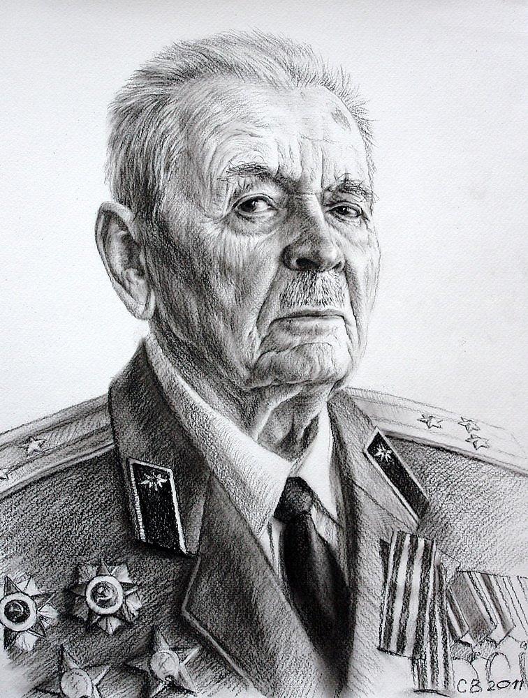 Ветераны картинки нарисованные