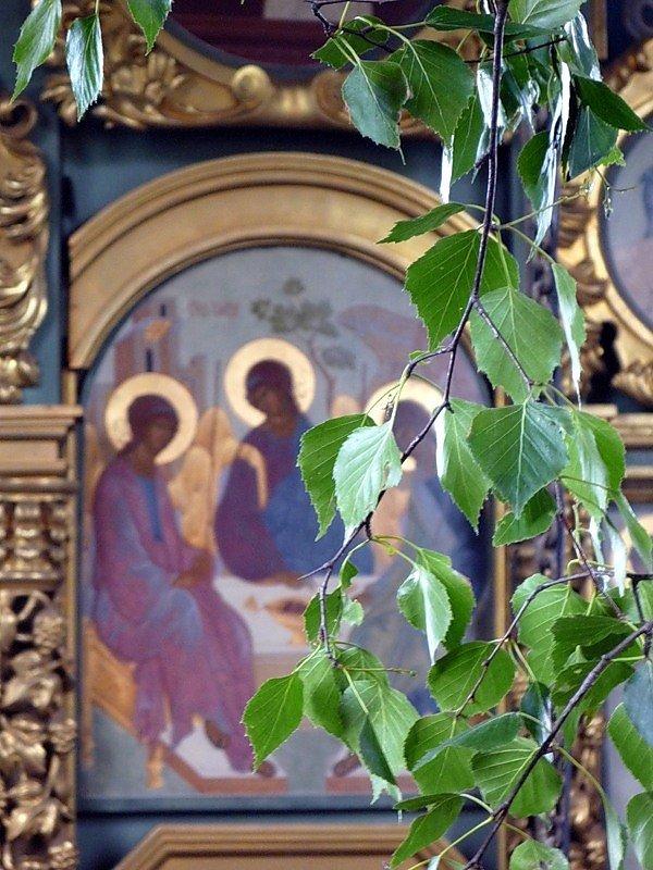 Памятные, троица картинки красивые с церковью