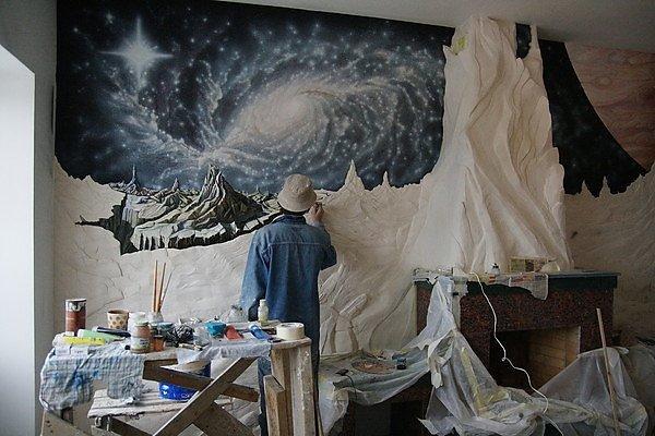 картинка барельеф космос своими руками также
